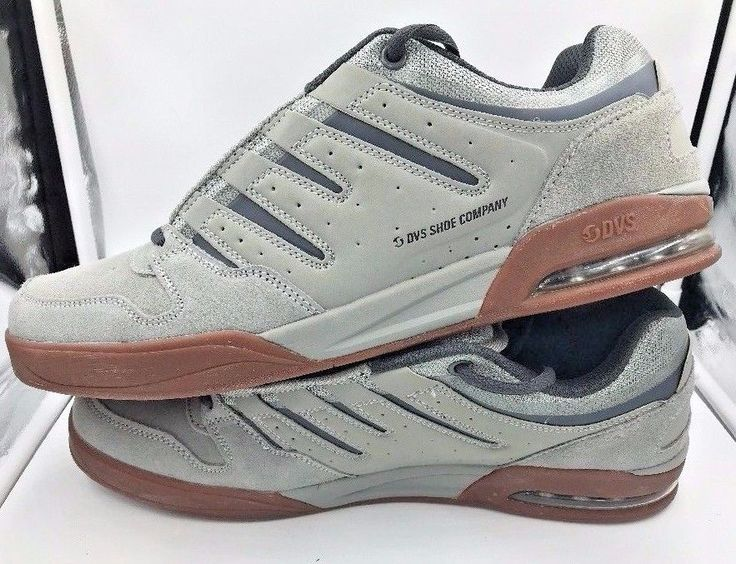 on sale f5c71 93eb9 ... DVS Shoes Tycho Gray Grey Mens Skateboard Athletic Shoes size 14  Vaporcell NEW