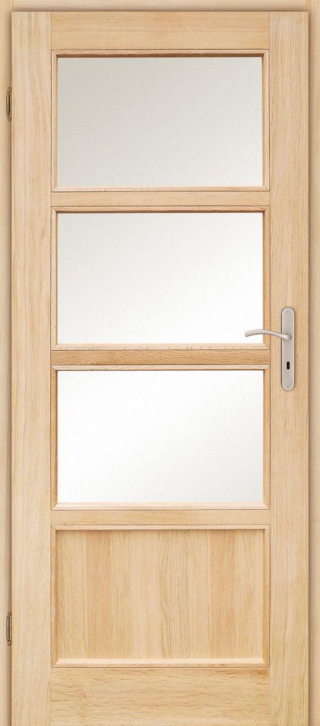 sosna lub dąb   brzozowski drzwi