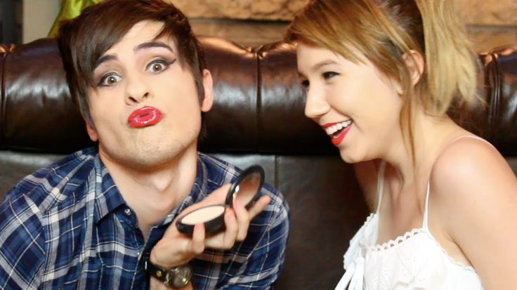Kalel does Anthony's makeup | Smosh Love | Pinterest ...