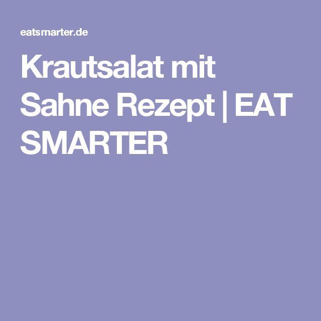 Krautsalat mit Sahne Rezept | EAT SMARTER