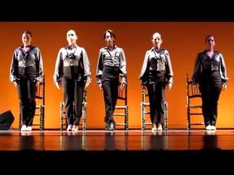 tientos tangos 2º flamenco conservatorio profesional de danza luis del rio - YouTube