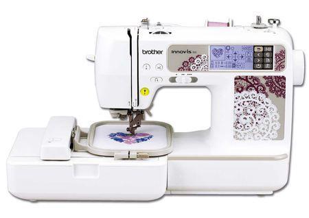 Máquina de coser y bordar con la que podrás realizar labores de patchwork y quilting.  10 tipos de enmarques con doce efectos de puntada diferente.  44 dibujos preestablecidos 67 tipos de costura diferentes #patchwork #bordados