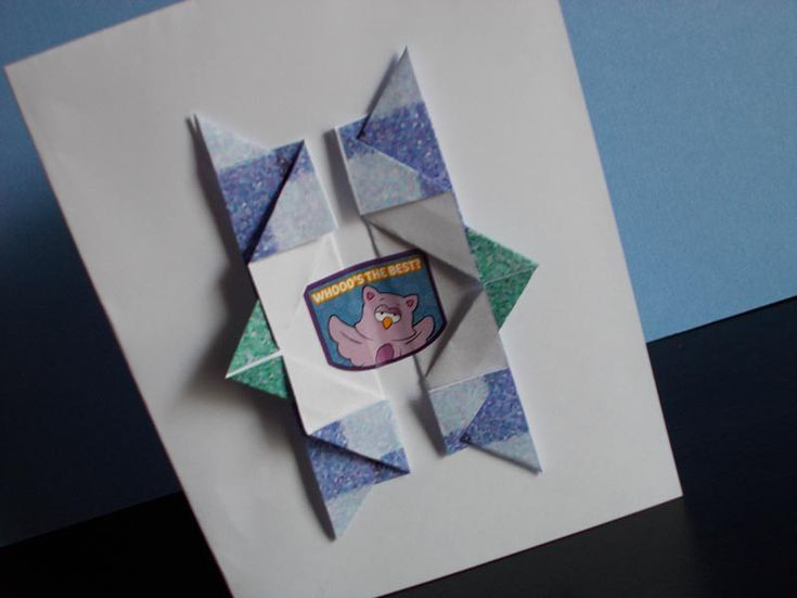 How To Make Your Own Origami Birthday Card Origami Cards