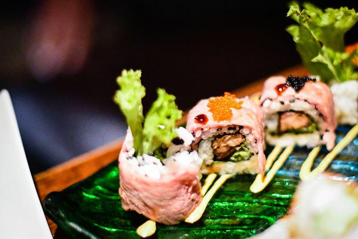 'Rock n roll' – premium wagyu beef and foie gras