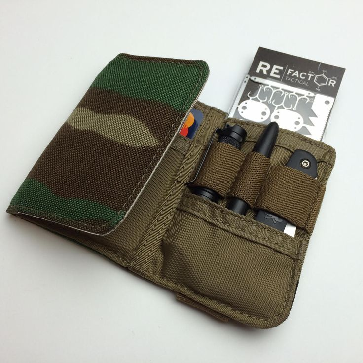 CORE Nano Adventure Wallet - WOODLAND CAMO
