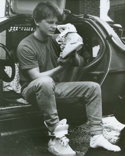 Marty McFly / Michael J Fox. YES.