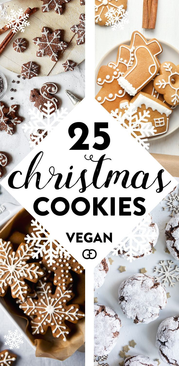 25 Irresistible Vegan Christmas Cookies You Need to try!