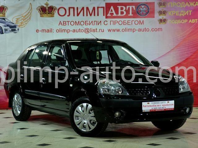 Renault Symbol I Рестайлинг, 2006 г.в. -