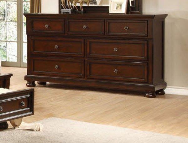 Myco Furniture - Manhattan Brown Dresser - MA887DR