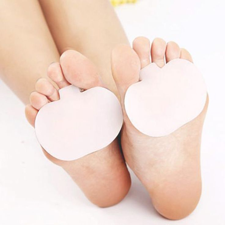 1pair High-heeled Shoes Forefoot Cushion Pads Silicne Insole Orthotic Insole Half Yard Pad Foot Care Tool Metatarsal Toe Support