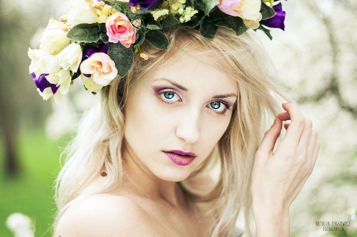 Photographer Natalia Żygłowicz | Model - Margo Marlow | Make up- GLAMGLOSS