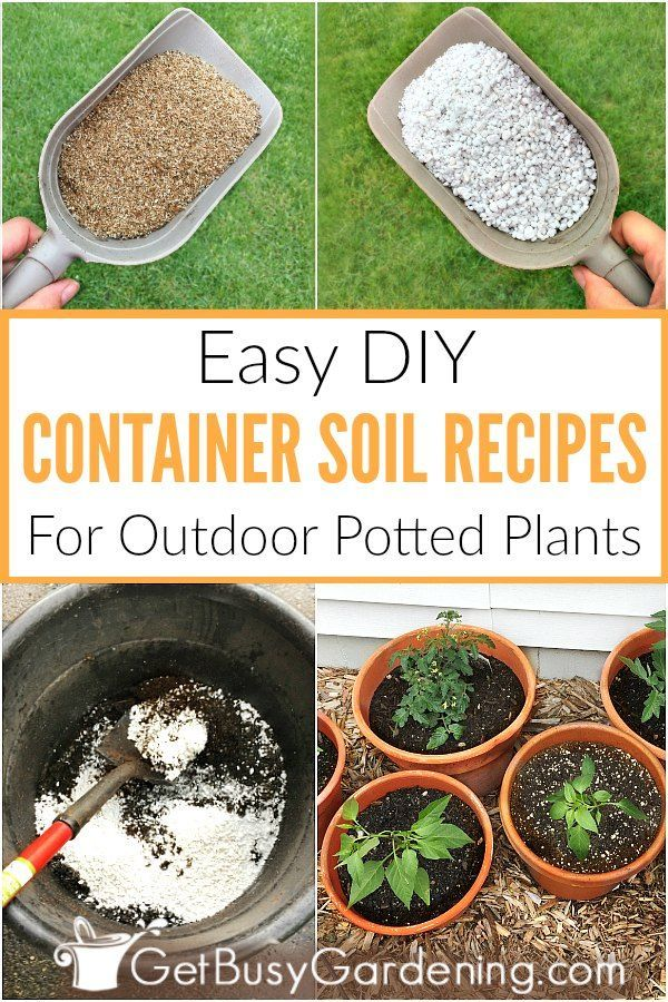 How To Make Potting Soil For Containers With Recipe With