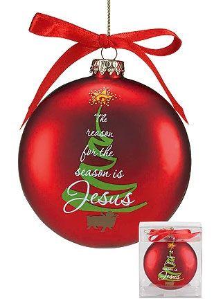 The Reason for the Season… Ornament
