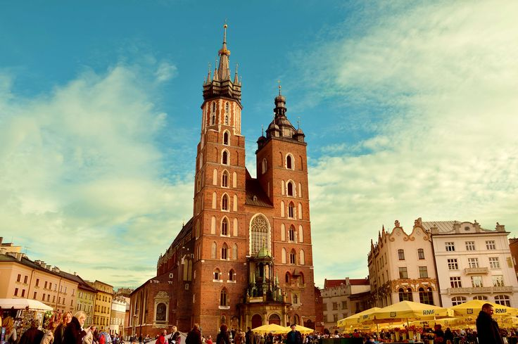 #buildings #church #city #cracow #poland #square