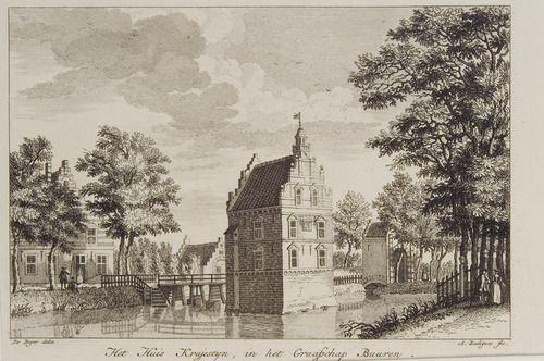 3748 Huis Kraijestein in het Graafschap Buuren, ca. 1803-1824