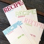 RECIPE: recipe-cards irl-makes-me-smile