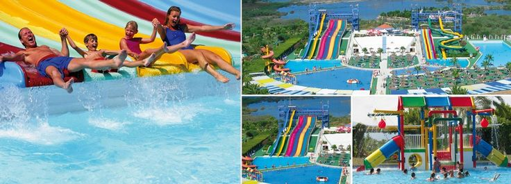 Water park by Hotel Club Mac, Puerto Alcudia, Mallorca / Majorca. Check packages with water park included on www.clubmac.es