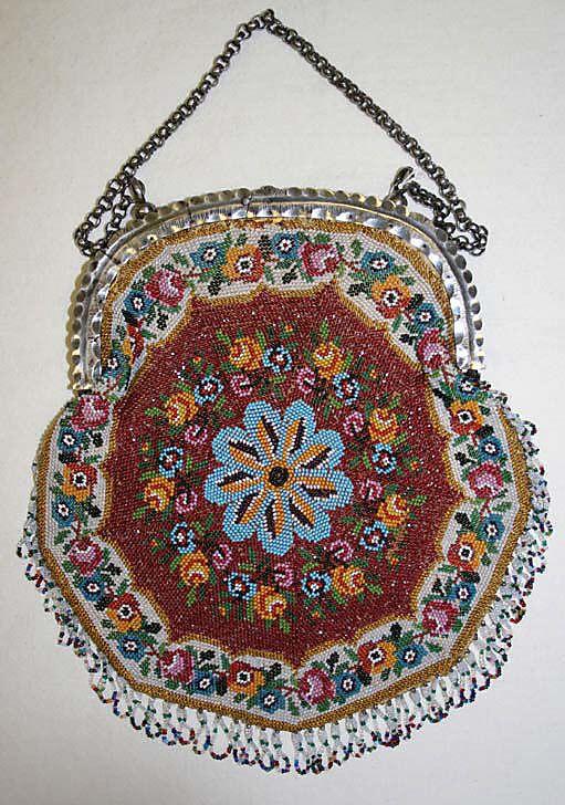 Bag  Date: 1820–30 Culture: French Medium: metal