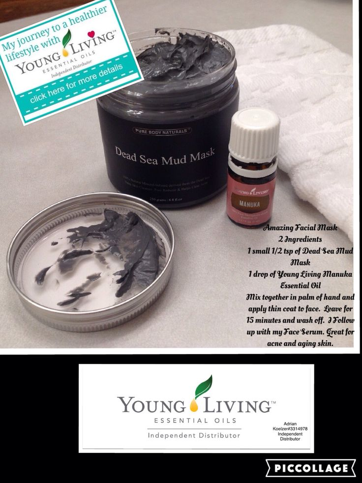 Manuka Essential Oil 1 drop To Dead Sea Mask Will Help Aging Skin Leaving It Soft And Smooth?  Great Mask For Acne Prone Skin.  Do Once A Week.