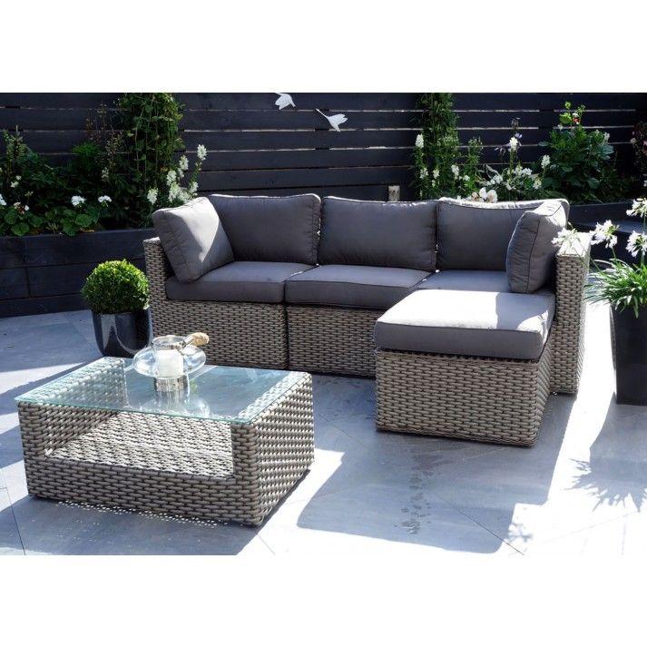 manchester garden rattan sofa