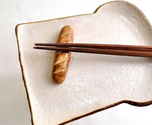 ハンドメイドマーケット minne(ミンネ)| パンの箸置き-3個セット- REAL-style-version