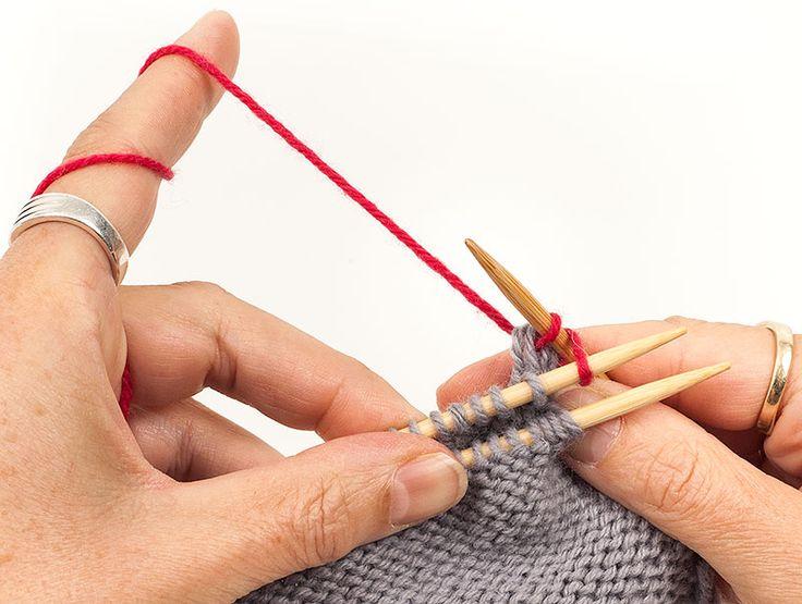 Strickteile verbinden – Teil 1: Zusammenstricken und gemeinsam Abketten | buttinette Blog