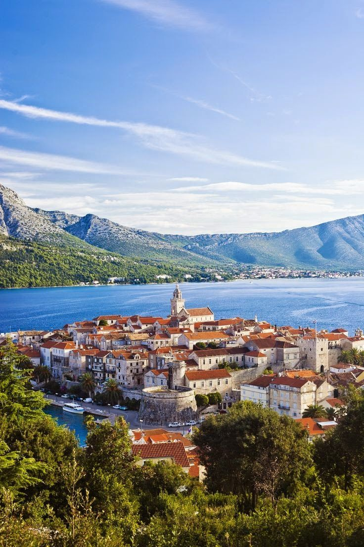 This is magical! Korcula ,Croatia. The 10 Most Beautiful Towns in Croatia on http://TheCultureTrip.com. Click this image for some Eastern European inspiration.