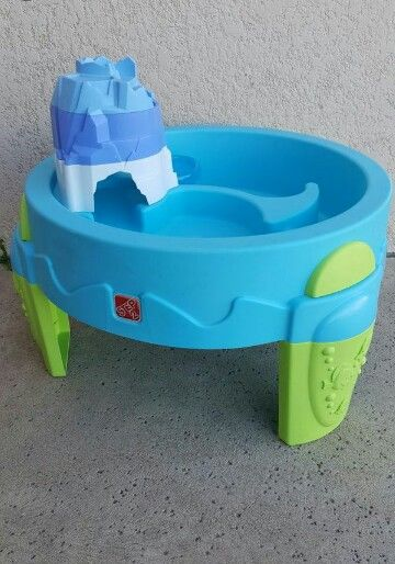 Step 2 water table for some wet fun.  #step2watertable