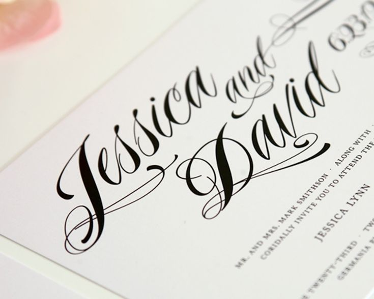Good Wedding Invitation Fonts: 105 Best Ideas About Invites & Such On Pinterest
