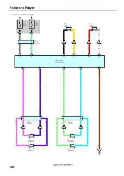 2001 toyota camry wiring diagram