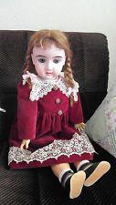 Antike, 71 cm große seltene PK-Puppe,gefertigt von Aich & Menzel, Austria