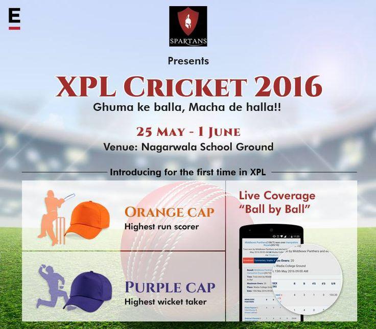 Join us for XPL cricket! www.extentia.com