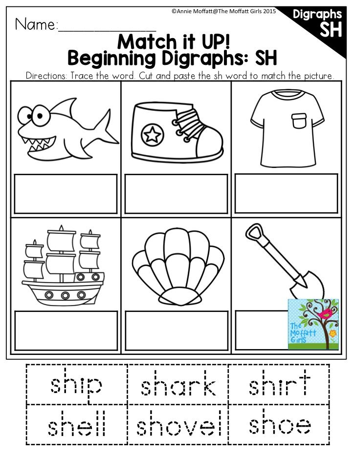 Beginning Digraphs: SH- There are tons of activities in these digraph packets to…