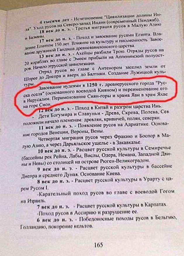 Очередное осеннее обострение: Святая Земля до евреев принадлежала России, как и Китай до китайцев