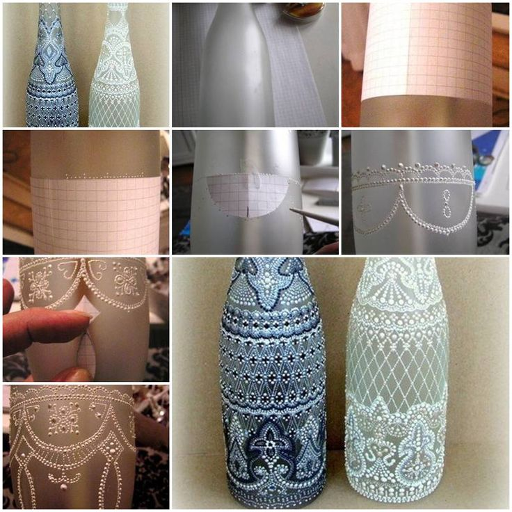 166 best diy projects recycled wine bottles beer caps vases how to make spot painting wine bottle diy tutorial instructions how to how to solutioingenieria Image collections
