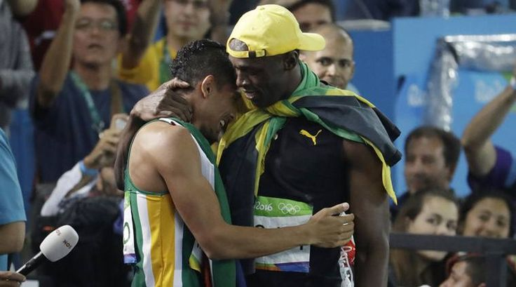 "Wayde van Niekerk of South Africa broke the 17-year-old World Record of Michael Johnson in a time of 43.03 seconds in the 400m event.Monday headlines were already booming with ""Usain Bolt"" bold texts as the fastest man in the world clocked 9.81 seconds to win the 100m sprint at Rio 2016 ..."