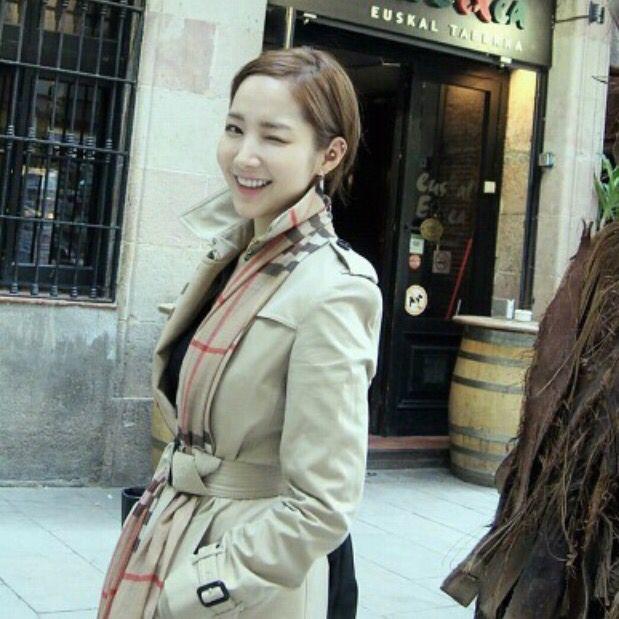 박민영 / trench coat