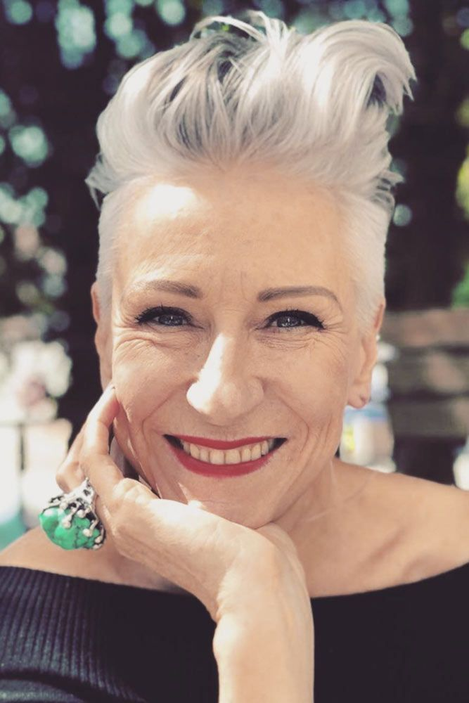 30 Hairstyles For Women Over 60 To Get The Most Out Of