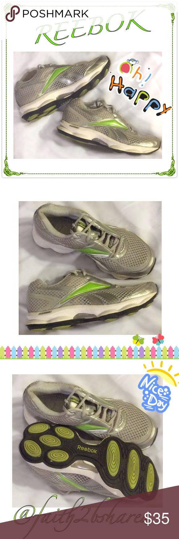 REEBOK Runners✨✨✨ Very nice well cared for running shoes❤️❤️ Not a lot of where as you can see bottom doesn't show signs of wear!  Very nice condition, no stains, clean❤️❤️❤️❤️✨ Reebok Shoes Athletic Shoes