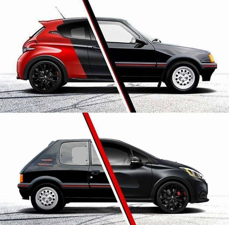 ¿Antes o ahora? #dadriver #Peugeot #205GTI @peugeotes