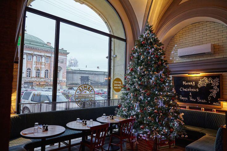 Красавица елка из Jamie's Italian в Петербурге. Приходите к нам за новогодним настроением:) #newyear #tree #christmas #jamieoliver #jamiesitalian #ginzaproject