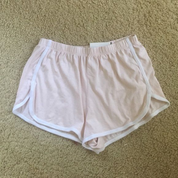 Brandy Melville pink lisette track shorts NWT Brandy Melville Shorts