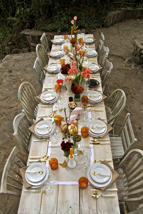 stunning, eclectic table!