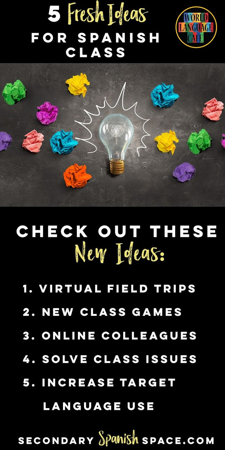 A new year offers new opportunities in your Spanish classroom (but really you can incorporate these ideas anytime). Just like I g...