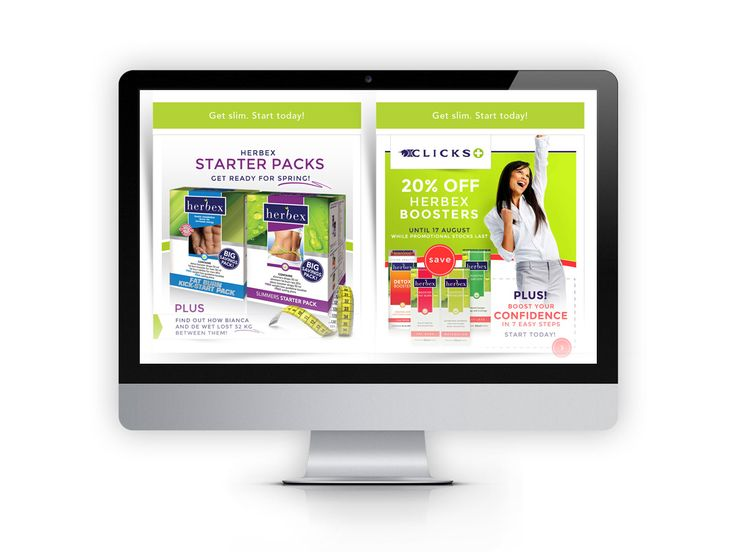 Newsletter for client Herbex