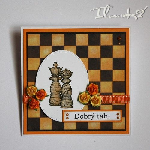 Svatební přání pro šachistu