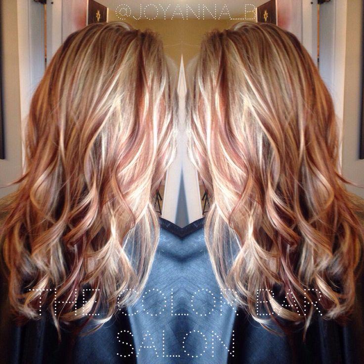 Red and blonde hair highlight ideas hairs picture gallery red and blonde hair highlight ideas hd image pmusecretfo Choice Image