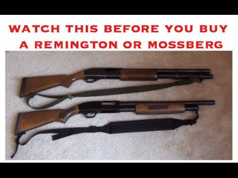 Watch this before you buy a Remington 870 or Mossberg 500
