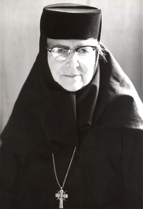January 23, 1991—Princess Ileana of Romania known as Mother Alexandra after becoming a nun, died Monday  in Youngstown, Ohio. She founded the Monastery of the Holy Transfiguration, a community of nuns of the Orthodox Church in America. The monastery is at Ellwood City in western Pennsylvania. She lived there for 22 years. She was an aunt of former King Michael of Romania and a cousin of Queen Elizabeth II of Britain.