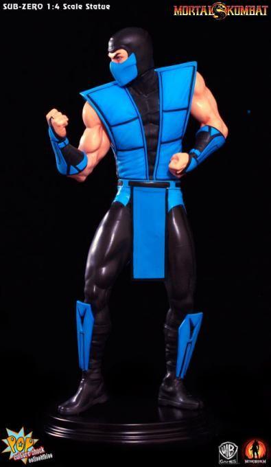 Estatua Sub-Zero clásico 48 cm. Ultimate Mortal Kombat 3. Escala 1:4. Pop Culture Shock  Espectacular estatua del luchador helado Sub-Zero de 48 cm de altura, 100% oficial y licenciada que si eres un fan de este popular videojuego de buen seguro te encantará tener en tu colección.